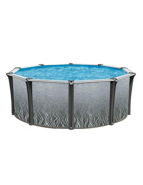 piscine hors terre aliz en r sine ma tre piscinier au coin du feu. Black Bedroom Furniture Sets. Home Design Ideas