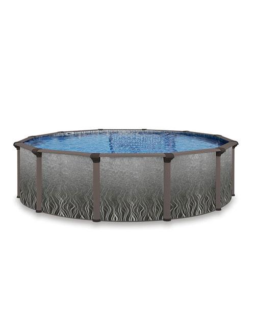 La piscine hors terre Quantum hybride, en vente chez Au Coin du Feu