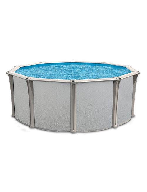 La piscine hors terre Solano en résine, en vente chez Au Coin du Feu