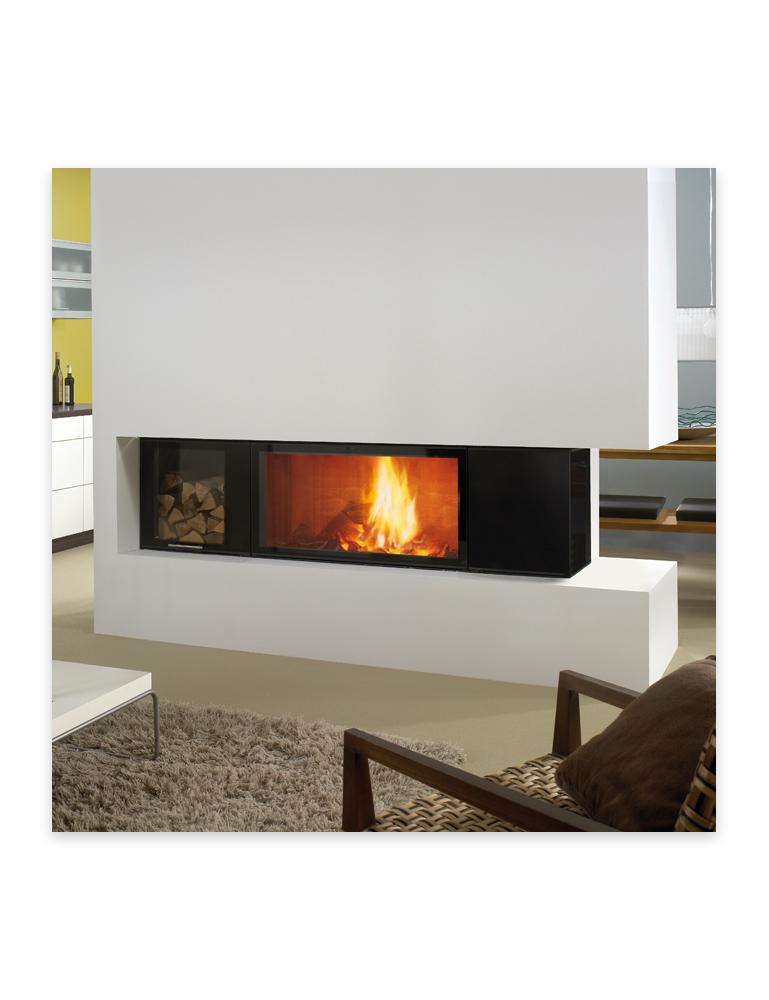 Foyers au bois au coin du feu produits de chauffage for Fournaise au bois exterieur