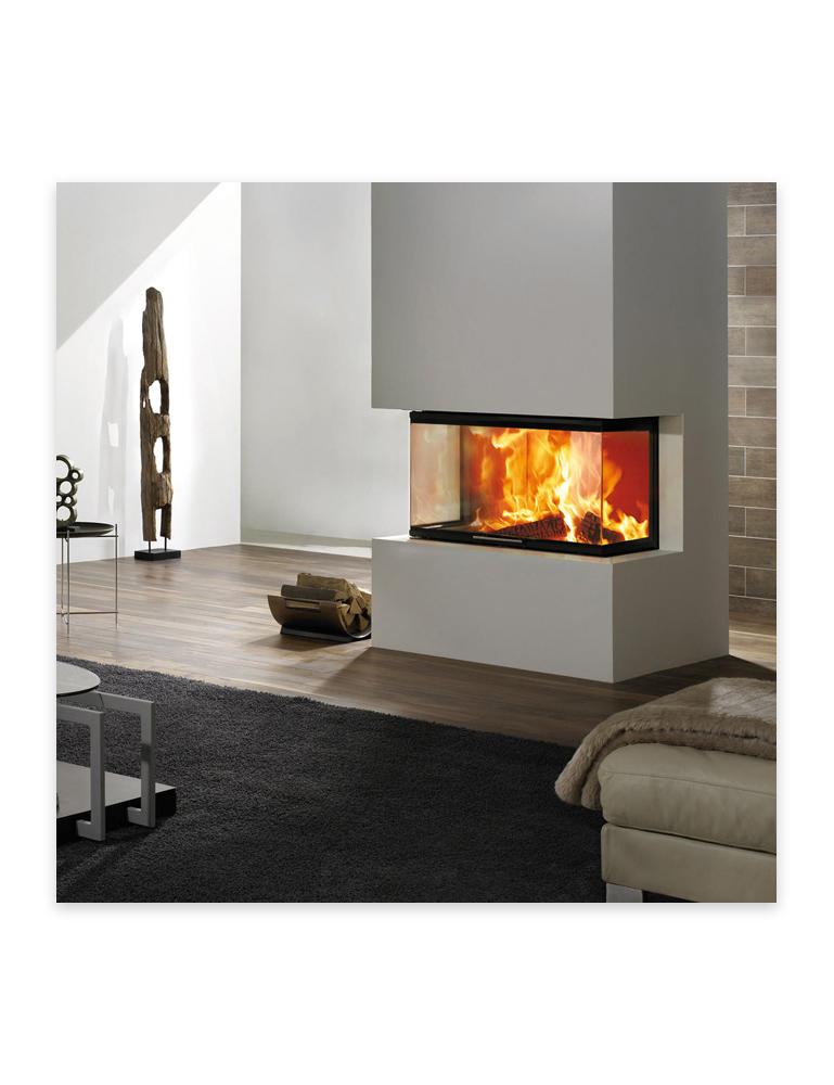 Foyer au bois Spartherm Arte 3RL-100h, disponible chez Au Coin du Feu
