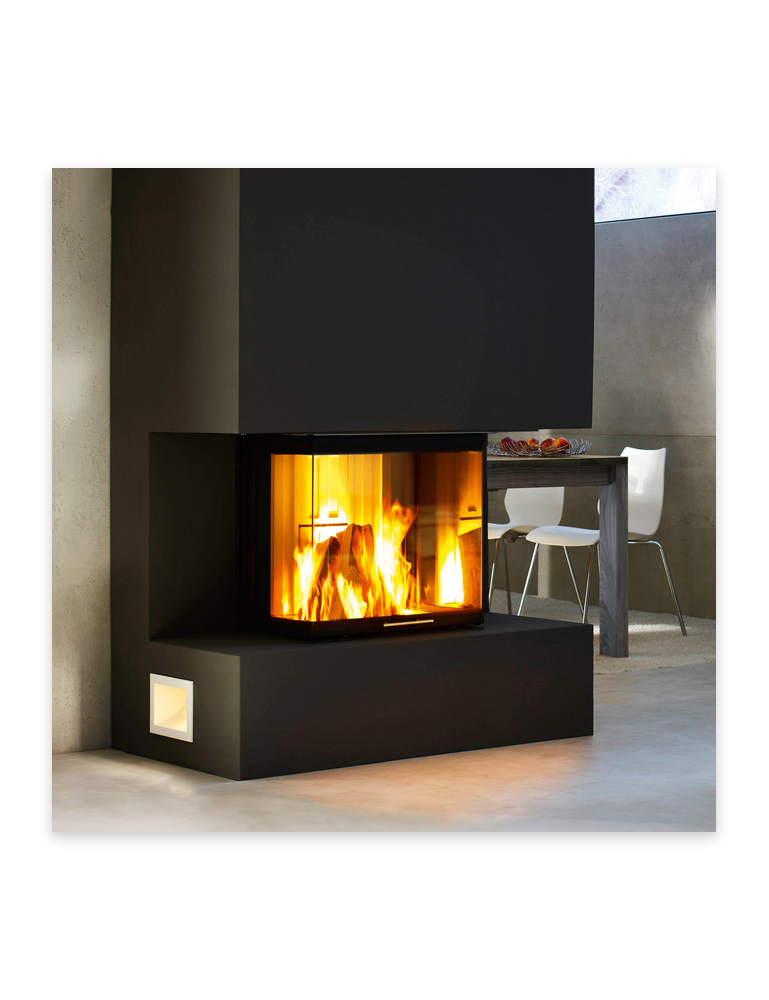 Foyer au bois Spartherm Arte 3RL-60h, disponible chez Au Coin du Feu
