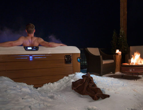 C'est possible d'utiliser son spa l'hiver!